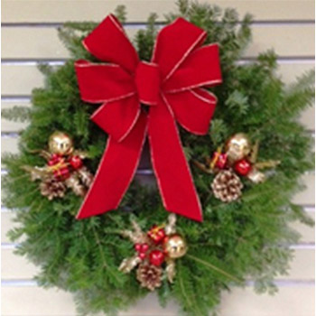 FANCY BALSAM WREATH
